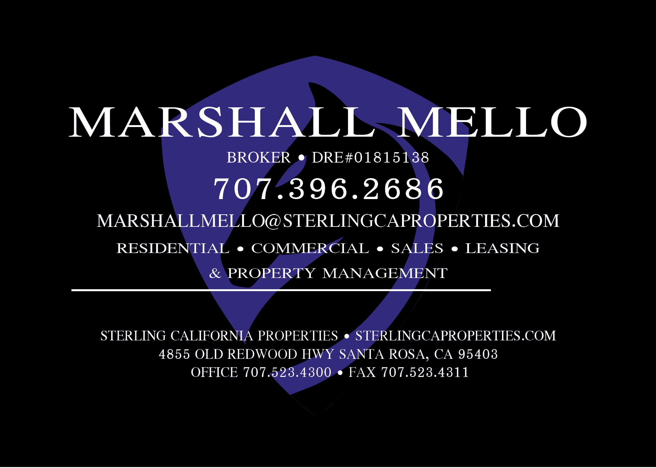 Marshall Mello- Sterling Properties
